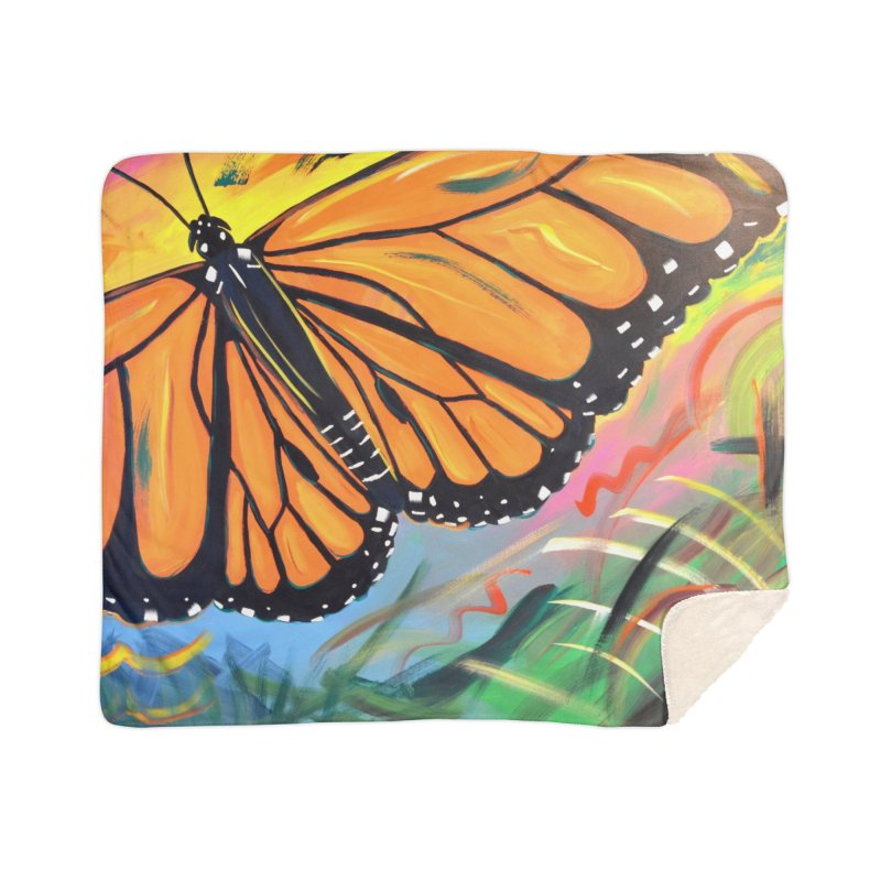 Monarch Migration Home Blanket by taeamade's Artist Shop