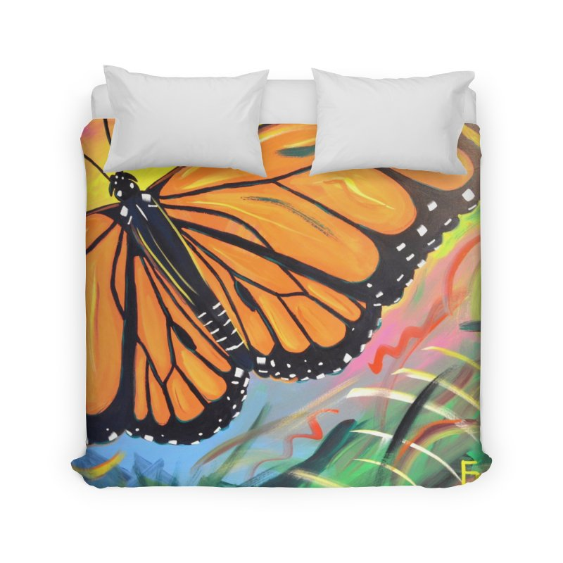 Monarch Migration Home Duvet by taeamade's Artist Shop