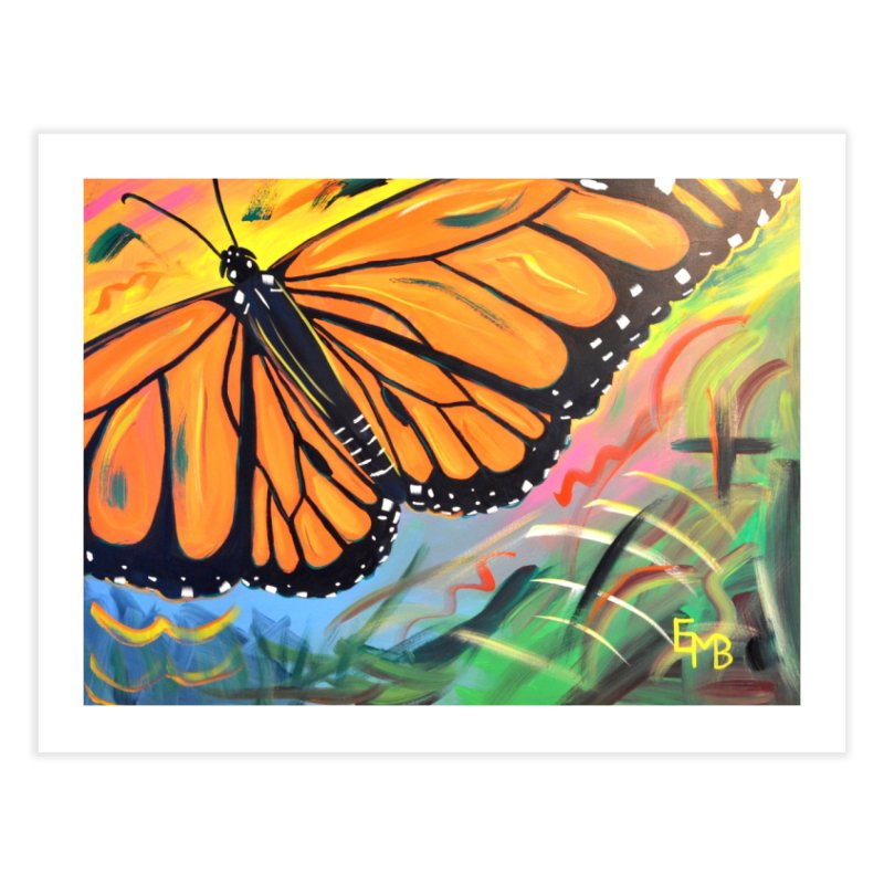 Monarch Migration Home Fine Art Print by taeamade's Artist Shop