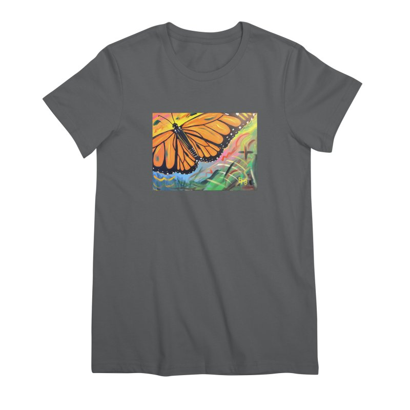 Monarch Migration Women's T-Shirt by taeamade's Artist Shop