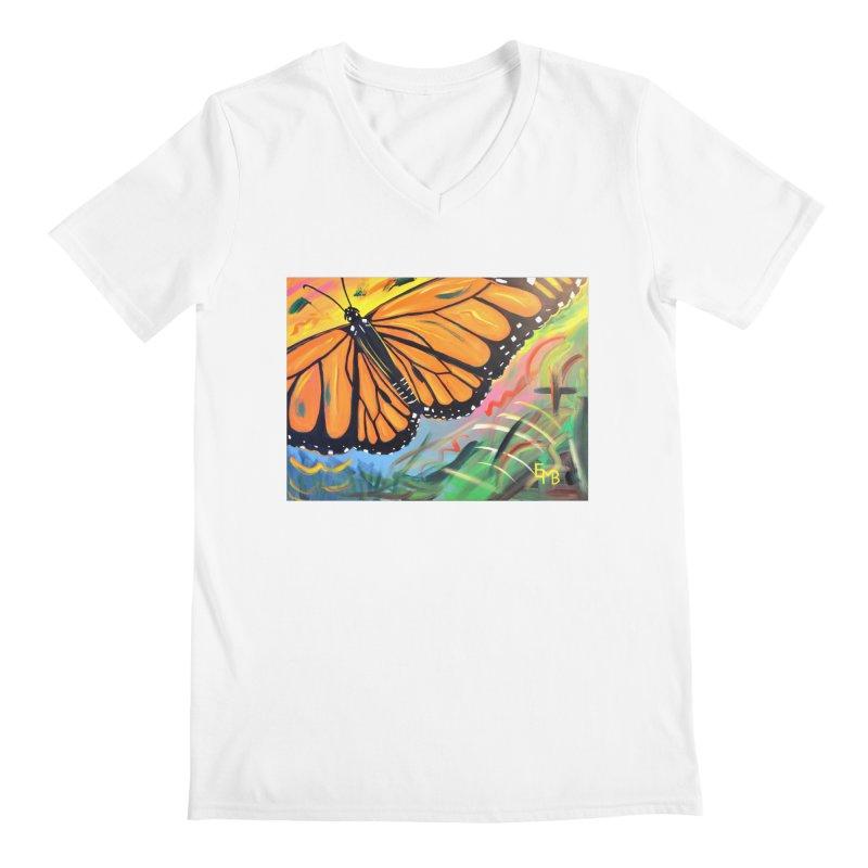 Monarch Migration Men's V-Neck by taeamade's Artist Shop