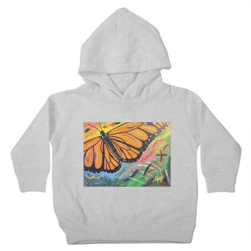 Monarch Migration Kids Toddler Pullover Hoody by taeamade's Artist Shop