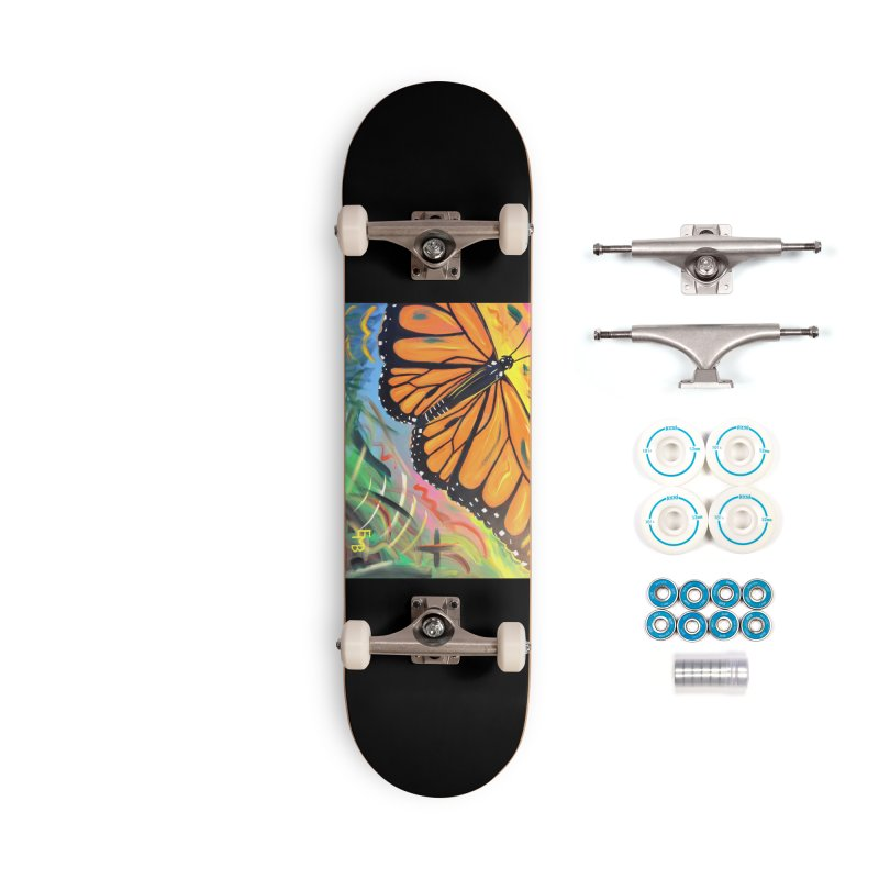 Monarch Migration Accessories Skateboard by taeamade's Artist Shop