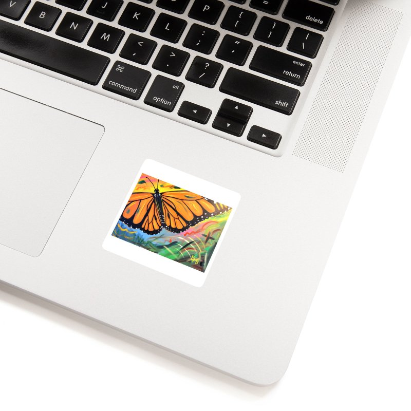 Monarch Migration Accessories Sticker by taeamade's Artist Shop