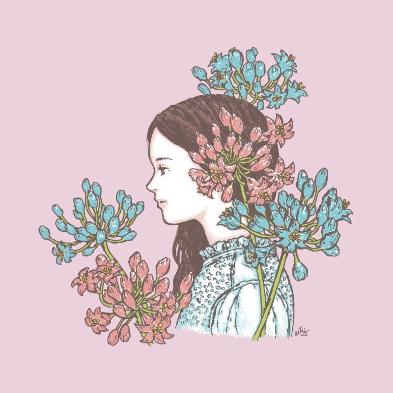 Agapanthus 소녀   by taeyun's Artist Shop