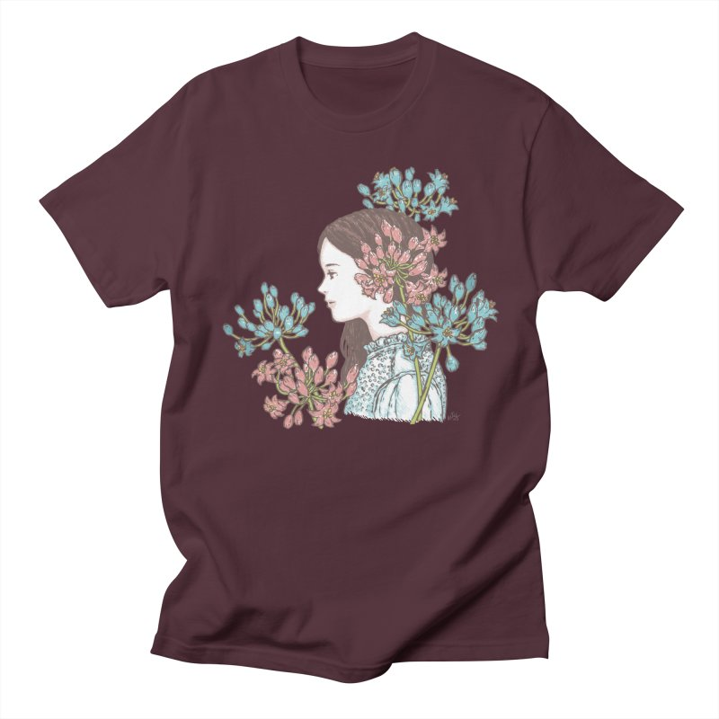 Agapanthus 소녀 Women's Unisex T-Shirt by taeyun's Artist Shop