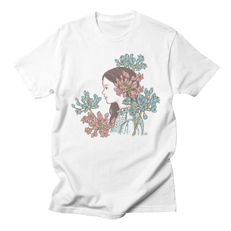 Agapanthus 소녀 Women's Unisex T-Shirt by taeyun's Artist Shop