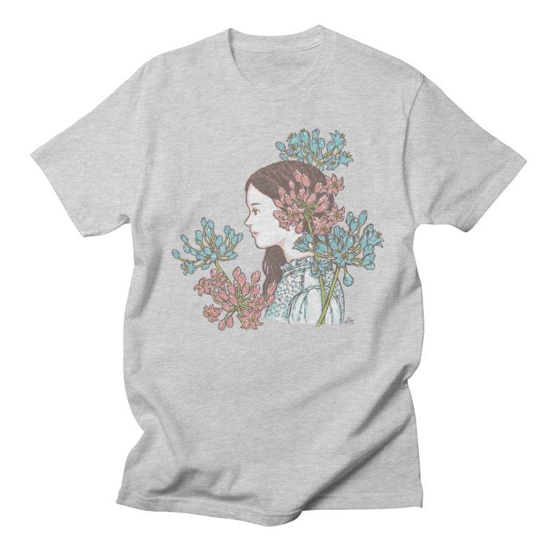 Agapanthus 소녀 Men's T-Shirt by taeyun's Artist Shop