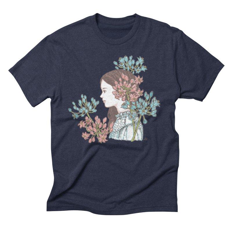 Agapanthus 소녀 Men's Triblend T-Shirt by taeyun's Artist Shop