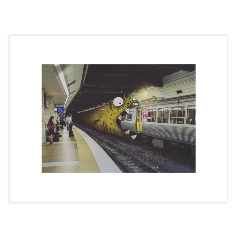 Trainglerfish Home Fine Art Print by Tail Jar's Artist Shop