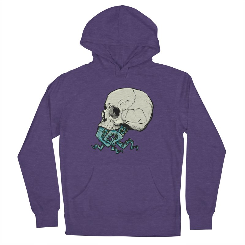 Tentacles Women's French Terry Pullover Hoody by Tail Jar's Artist Shop