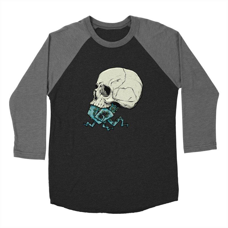 Tentacles Women's Baseball Triblend Longsleeve T-Shirt by Tail Jar's Artist Shop