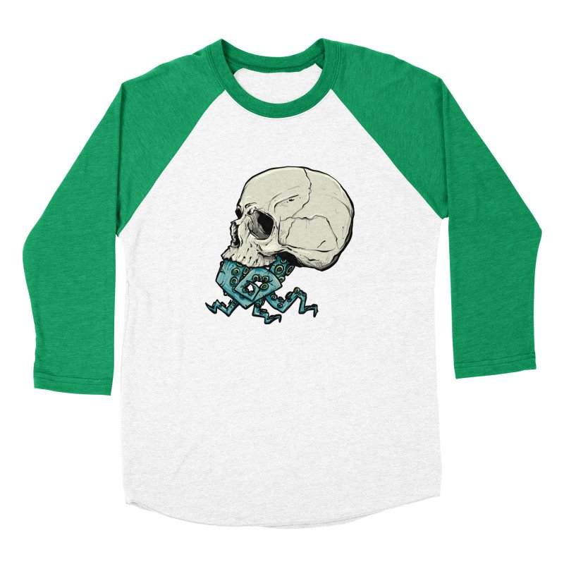 Tentacles Men's Baseball Triblend Longsleeve T-Shirt by Tail Jar's Artist Shop