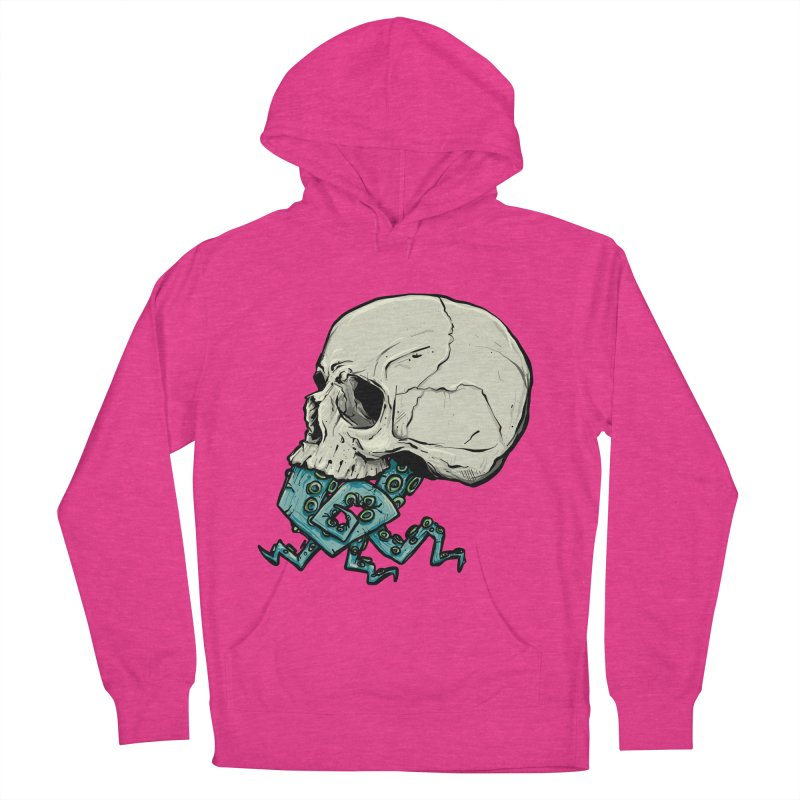 Tentacles Men's French Terry Pullover Hoody by Tail Jar's Artist Shop