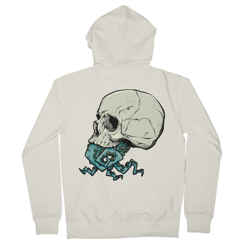 Tentacles Women's French Terry Zip-Up Hoody by Tail Jar's Artist Shop
