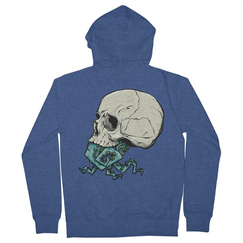 Tentacles Men's French Terry Zip-Up Hoody by Tail Jar's Artist Shop
