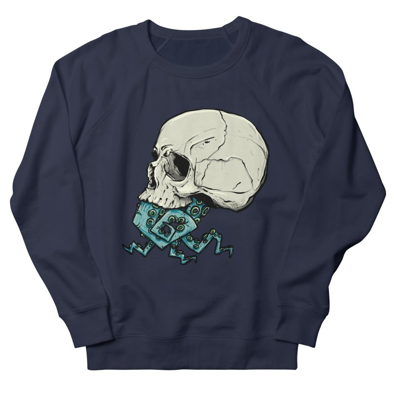 Tentacles Women's French Terry Sweatshirt by Tail Jar's Artist Shop