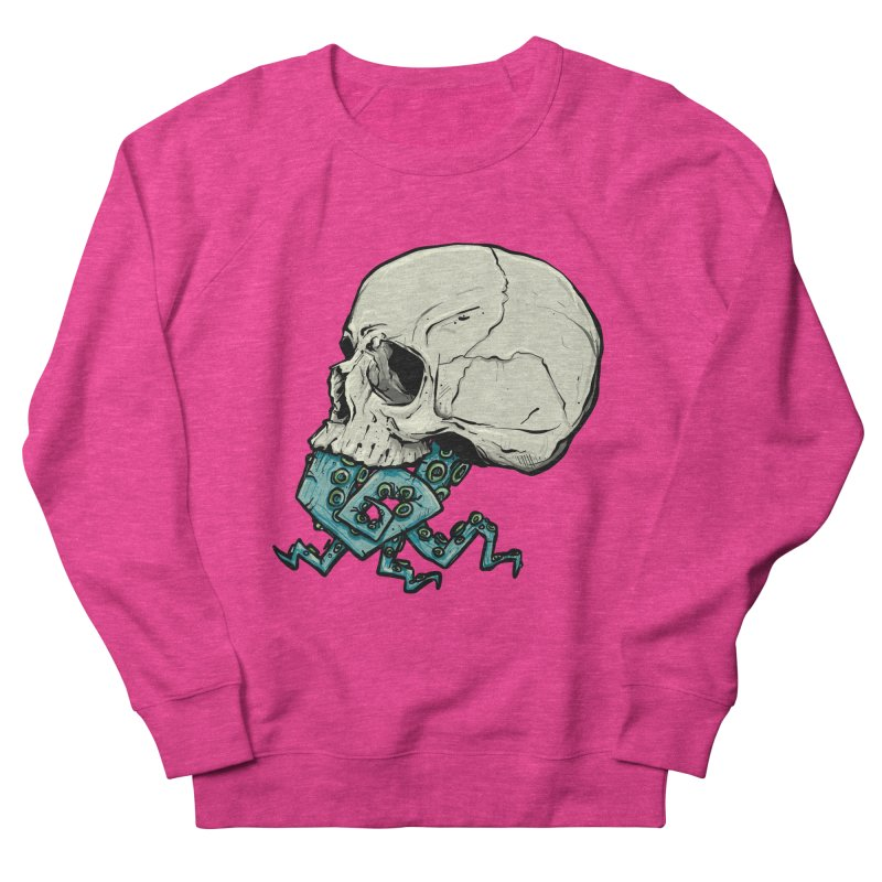 Tentacles Men's French Terry Sweatshirt by Tail Jar's Artist Shop