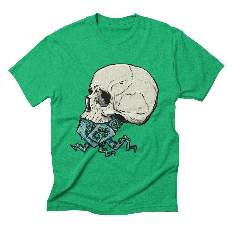 Tentacles Men's Triblend T-Shirt by Tail Jar's Artist Shop