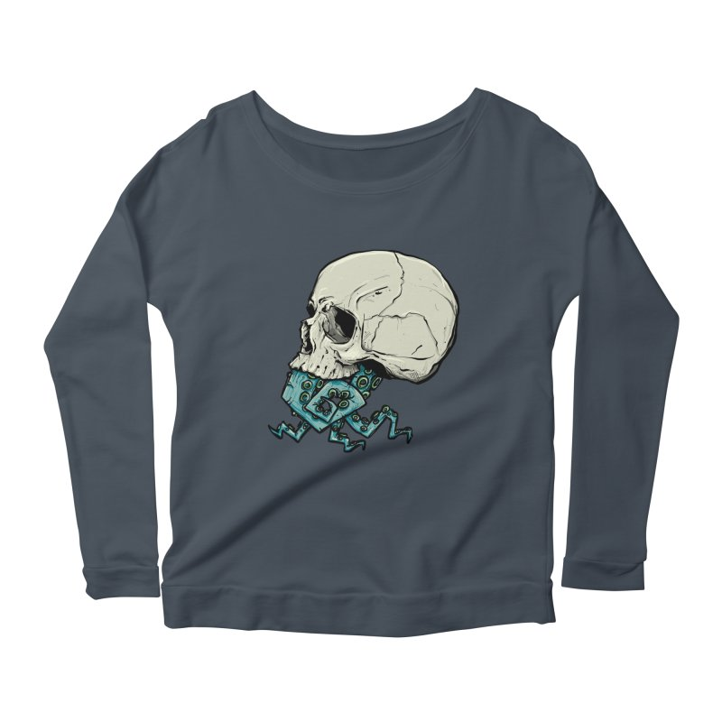 Tentacles Women's Scoop Neck Longsleeve T-Shirt by Tail Jar's Artist Shop
