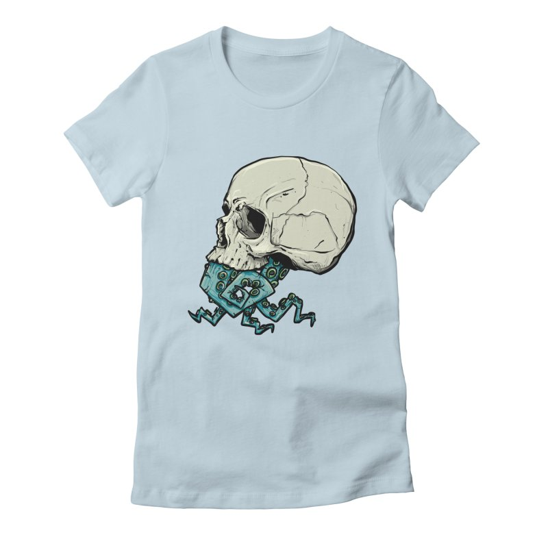 Tentacles Women's Fitted T-Shirt by Tail Jar's Artist Shop
