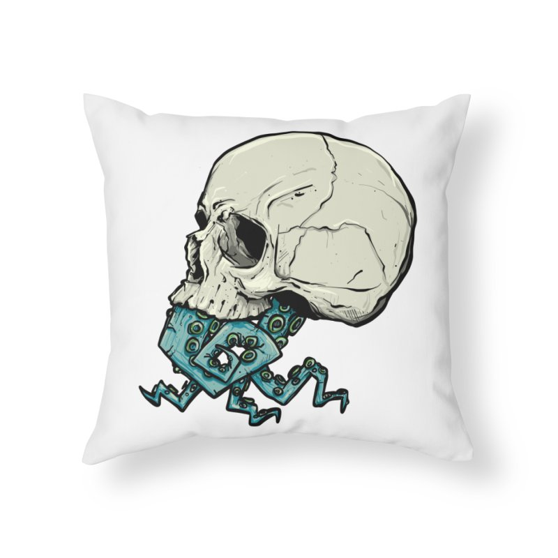 Tentacles Home Throw Pillow by Tail Jar's Artist Shop