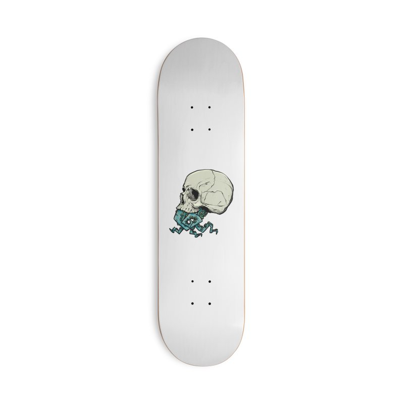 Tentacles Accessories Deck Only Skateboard by Tail Jar's Artist Shop