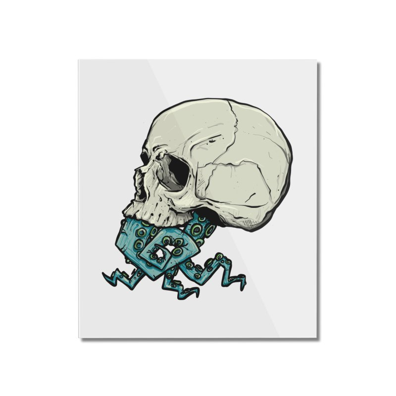 Tentacles Home Mounted Acrylic Print by Tail Jar's Artist Shop
