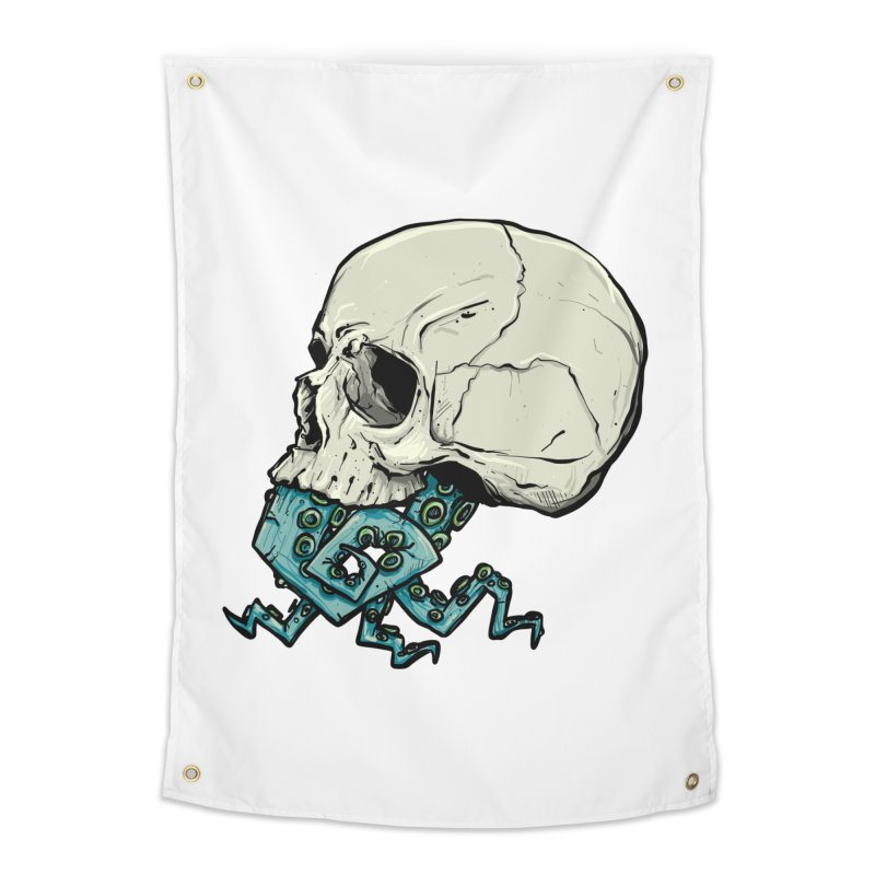 Tentacles Home Tapestry by Tail Jar's Artist Shop