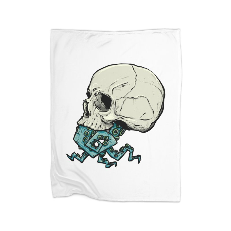 Tentacles Home Fleece Blanket Blanket by Tail Jar's Artist Shop