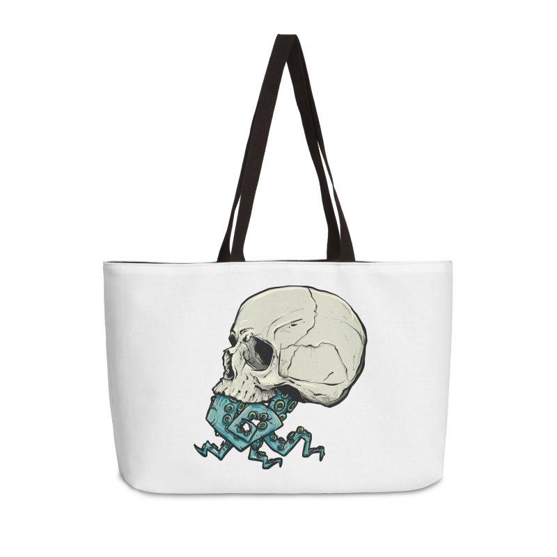Tentacles Accessories Weekender Bag Bag by Tail Jar's Artist Shop