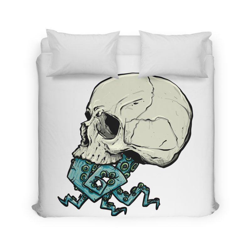 Tentacles Home Duvet by Tail Jar's Artist Shop
