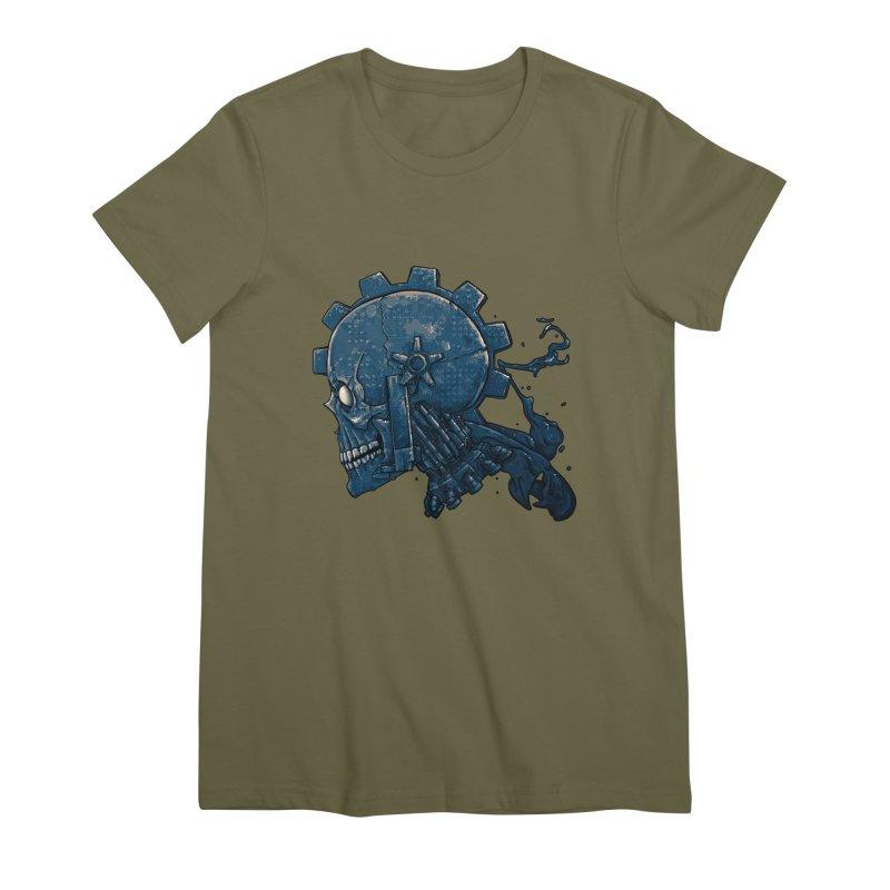 Mech Head Women's Premium T-Shirt by Tail Jar's Artist Shop