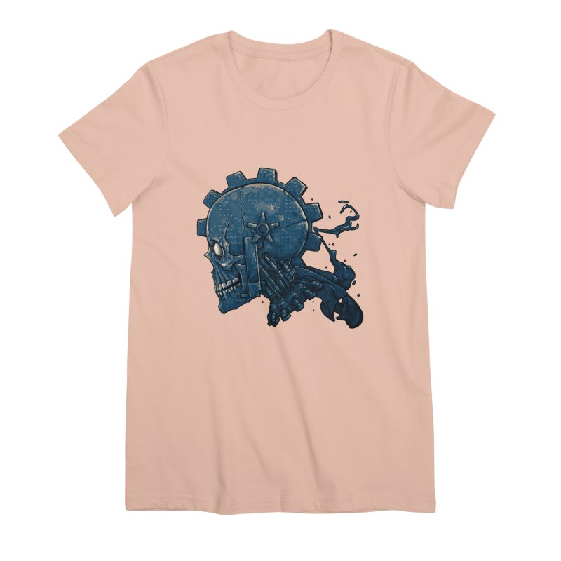 Mech Head Women's Premium T-Shirt by Tail Jar's Artist Shop