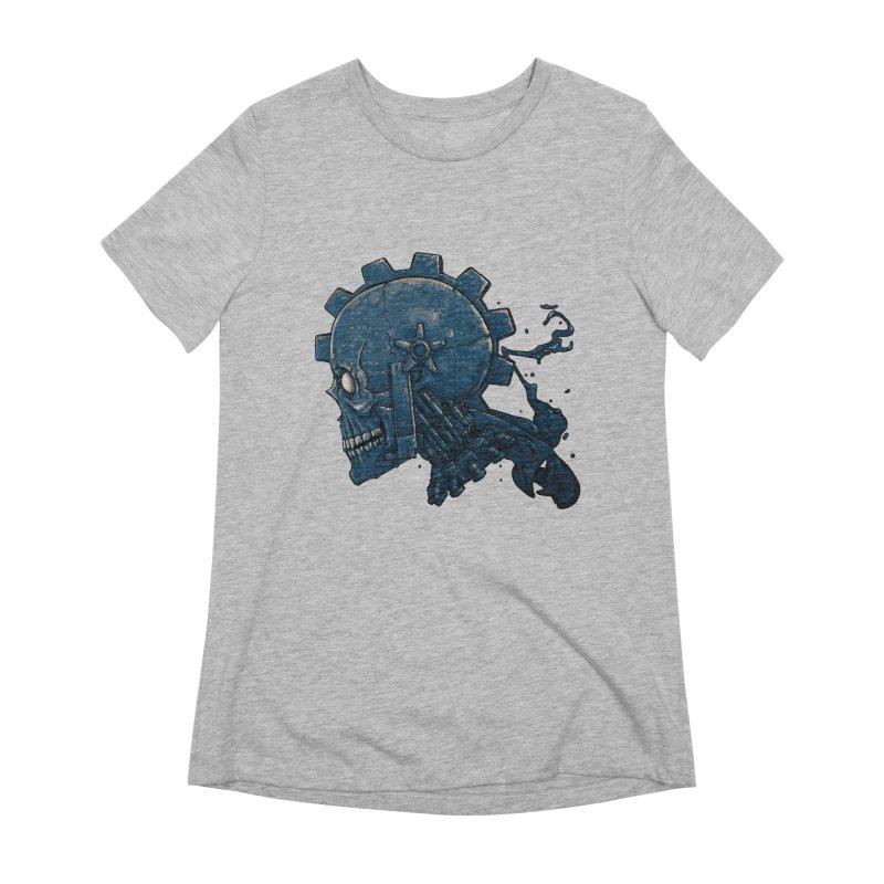 Mech Head Women's Extra Soft T-Shirt by Tail Jar's Artist Shop