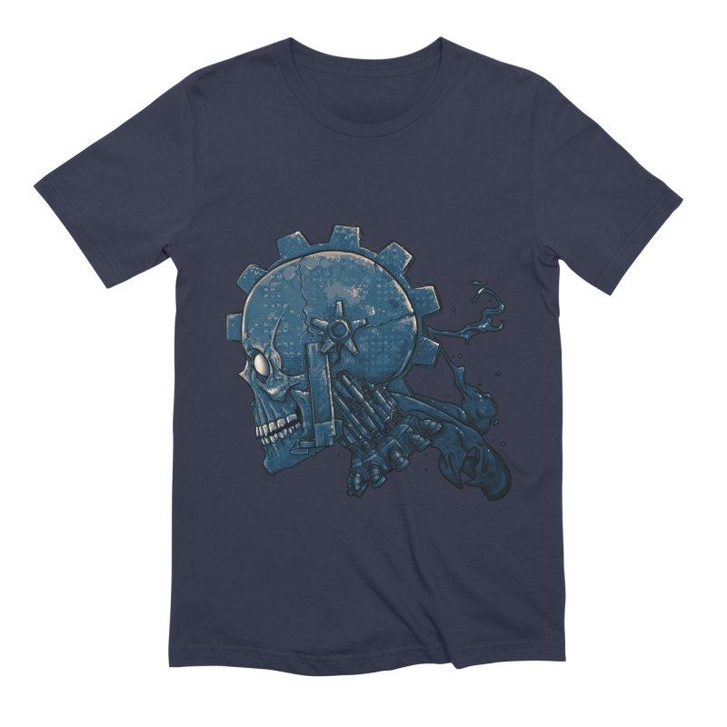 Mech Head Men's Extra Soft T-Shirt by Tail Jar's Artist Shop