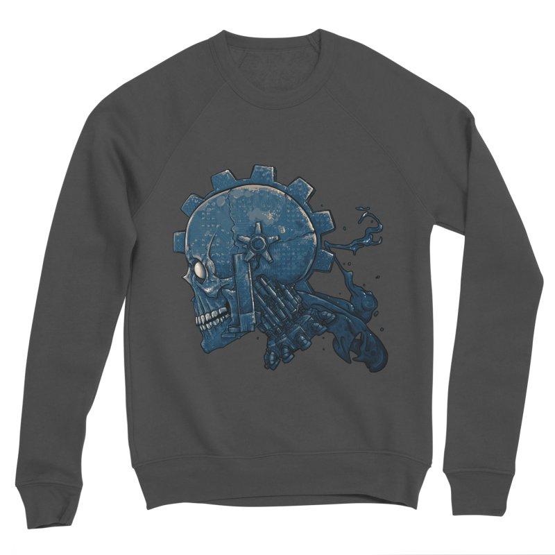 Mech Head Men's Sponge Fleece Sweatshirt by Tail Jar's Artist Shop