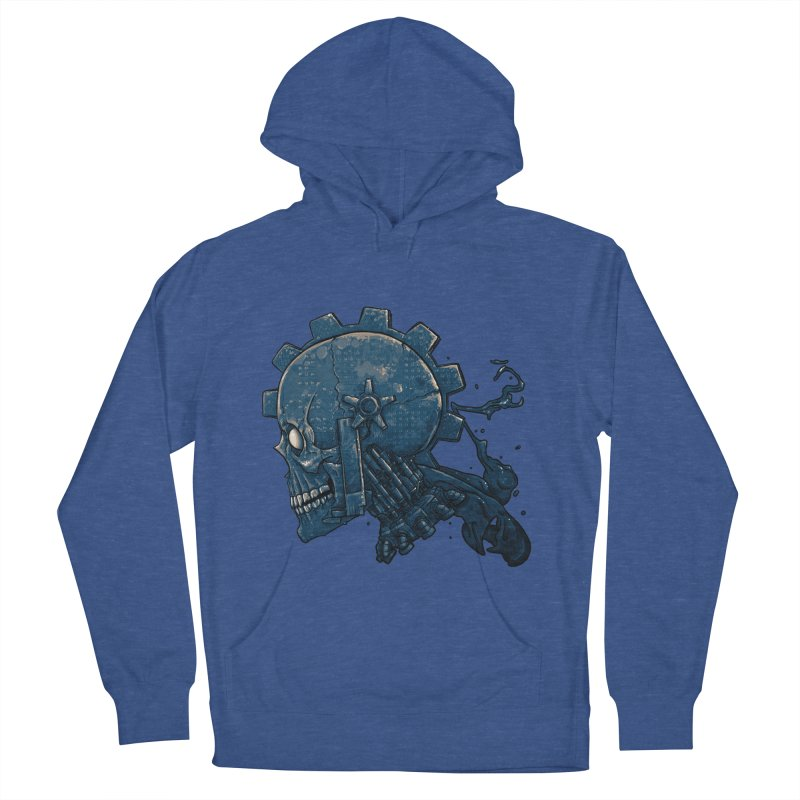 Mech Head Women's French Terry Pullover Hoody by Tail Jar's Artist Shop