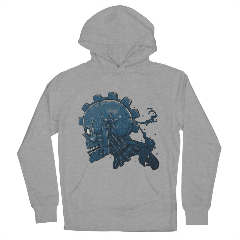 Mech Head Men's French Terry Pullover Hoody by Tail Jar's Artist Shop