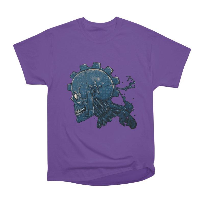 Mech Head Men's Heavyweight T-Shirt by Tail Jar's Artist Shop