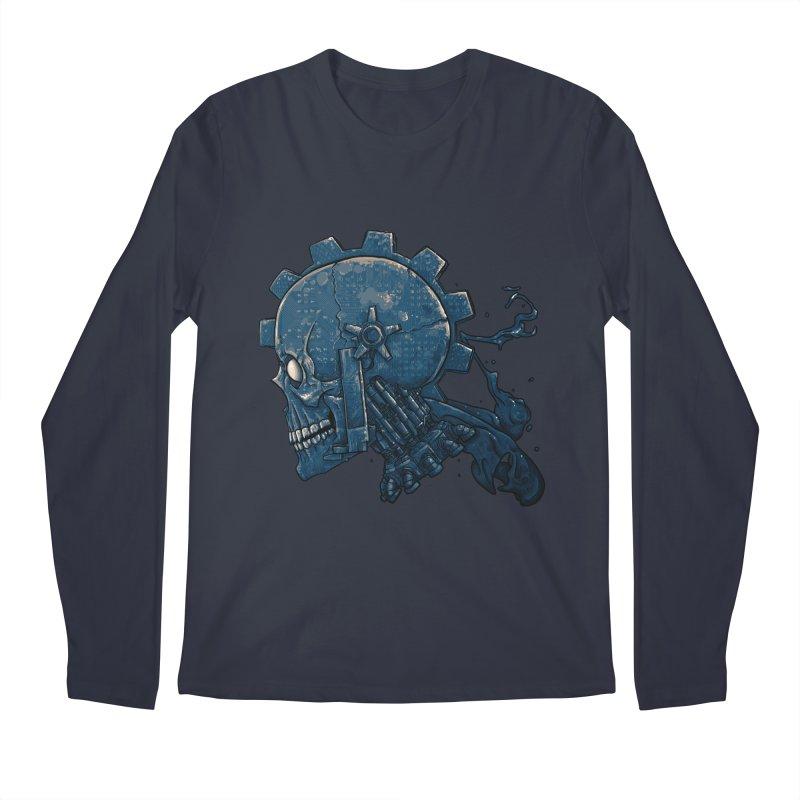 Mech Head Men's Regular Longsleeve T-Shirt by Tail Jar's Artist Shop