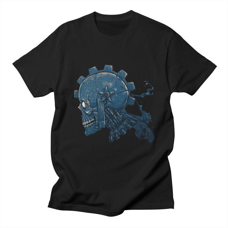 Mech Head Men's Regular T-Shirt by Tail Jar's Artist Shop
