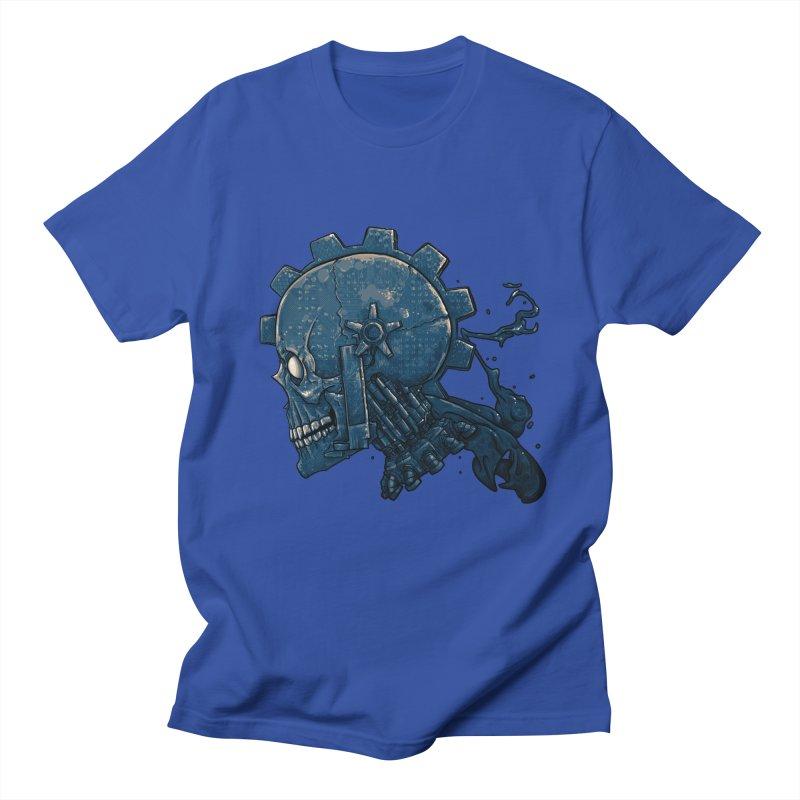 Mech Head Men's Regular T-Shirt by Tail Jar's Artist Shop