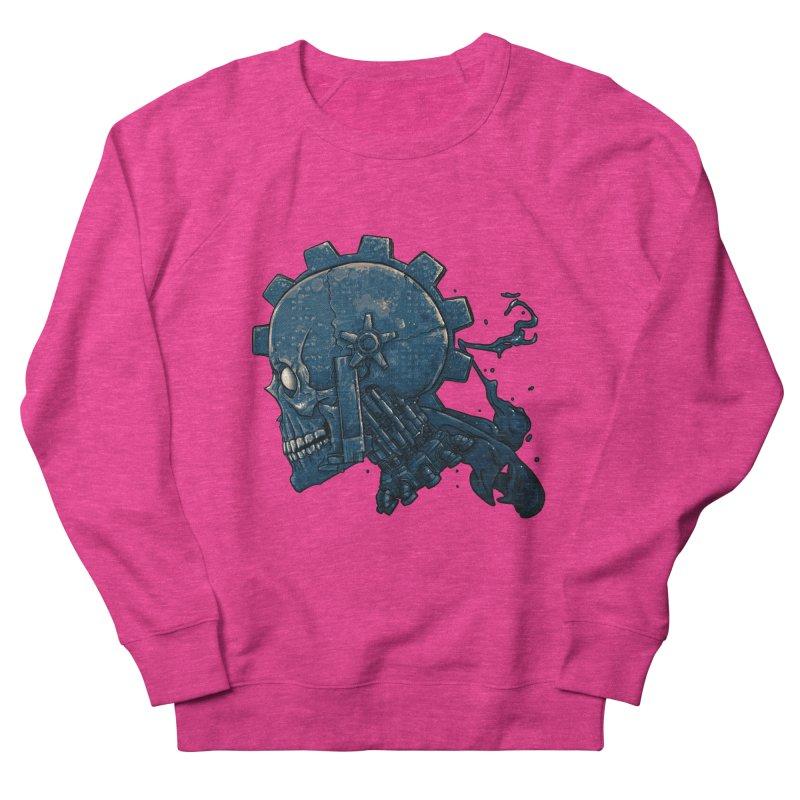 Mech Head Women's French Terry Sweatshirt by Tail Jar's Artist Shop