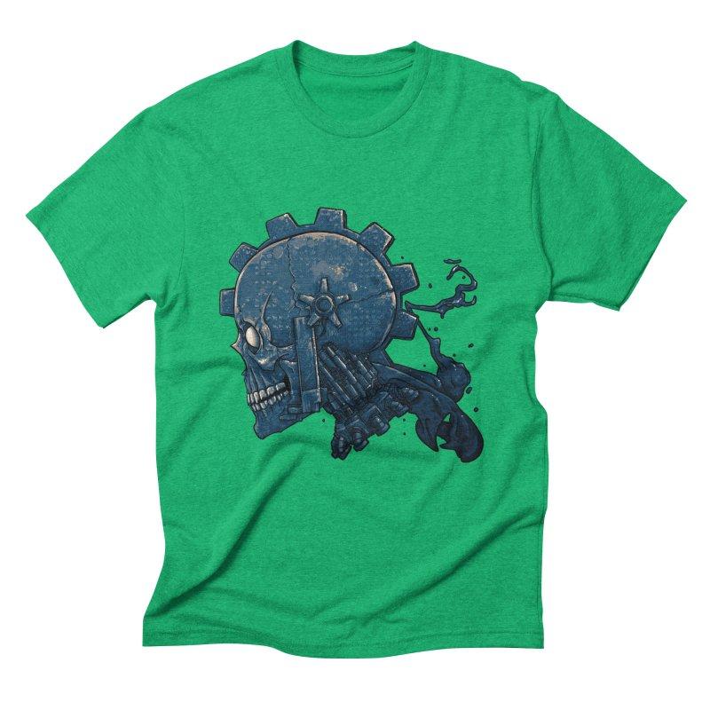 Mech Head Men's Triblend T-Shirt by Tail Jar's Artist Shop