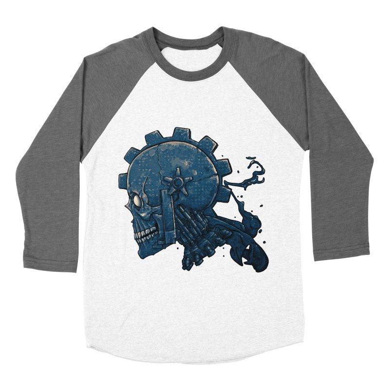 Mech Head Women's Baseball Triblend Longsleeve T-Shirt by Tail Jar's Artist Shop