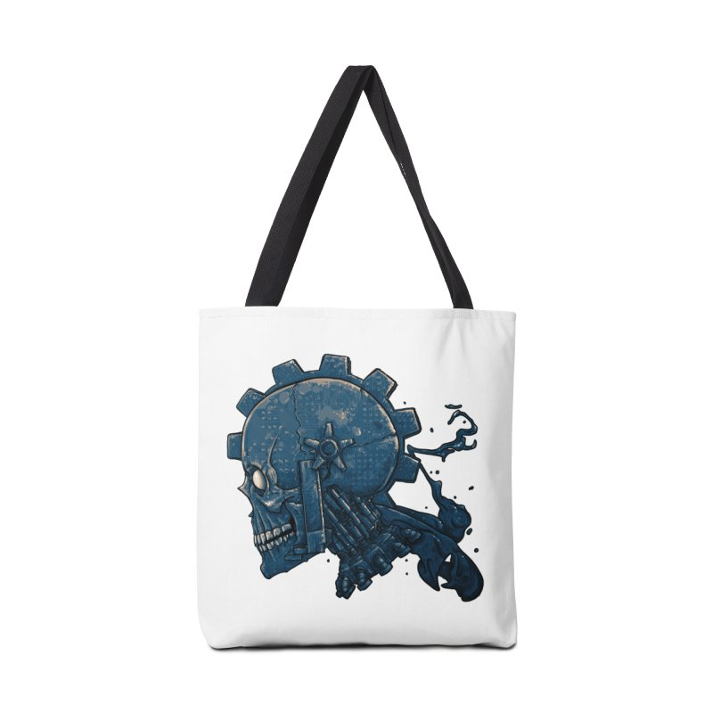 Mech Head Accessories Tote Bag Bag by Tail Jar's Artist Shop