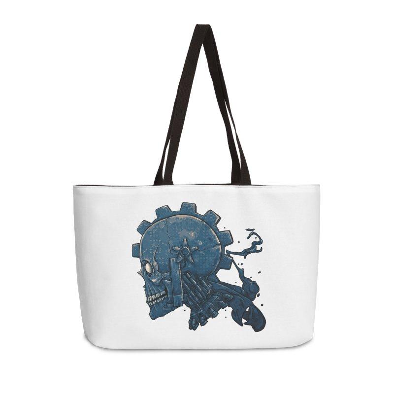 Mech Head Accessories Weekender Bag Bag by Tail Jar's Artist Shop