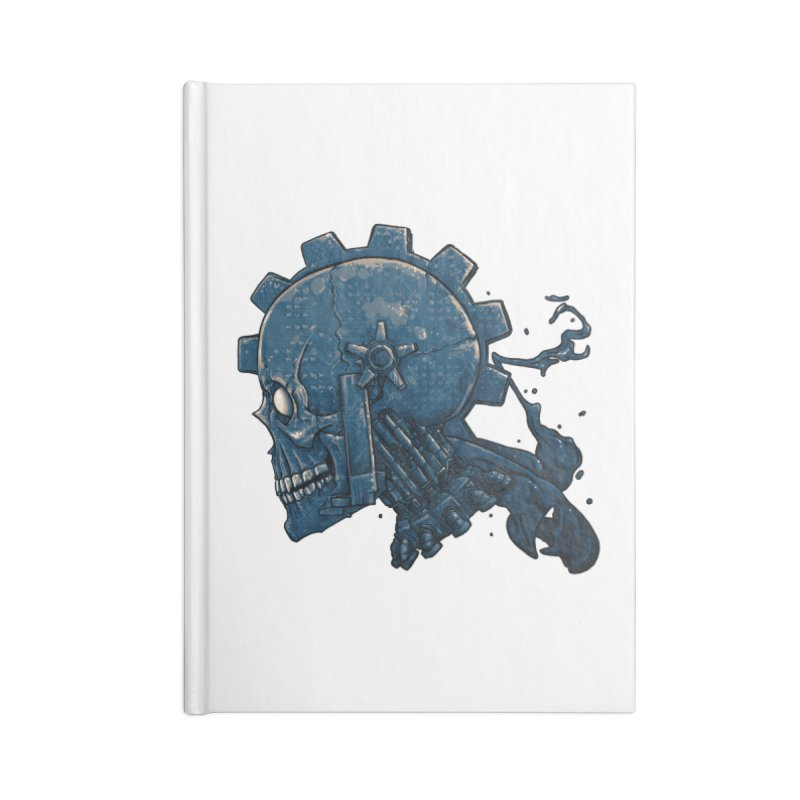 Mech Head Accessories Blank Journal Notebook by Tail Jar's Artist Shop