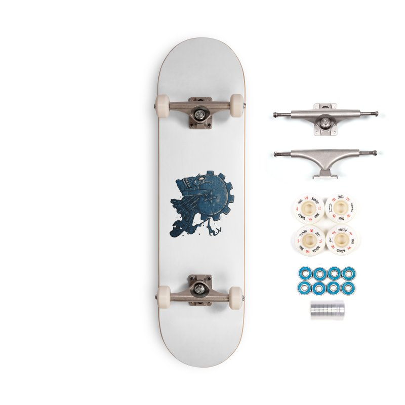 Mech Head Accessories Complete - Premium Skateboard by Tail Jar's Artist Shop